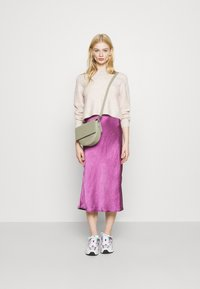 Topshop - ROLL CROP PINK - Jumper - neutral - 1