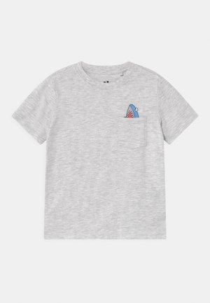 DOWNTOWN SHORT SLEEVE TEE - T-shirt print - summer grey
