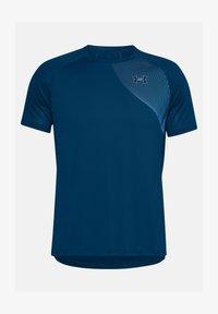 Under Armour - Print T-shirt - blue - 2