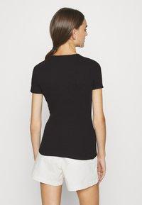 Even&Odd - Print T-shirt - white/black - 2