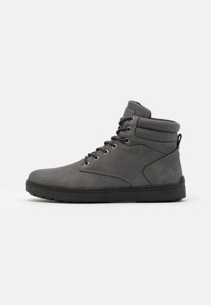 High-top trainers - dark gray