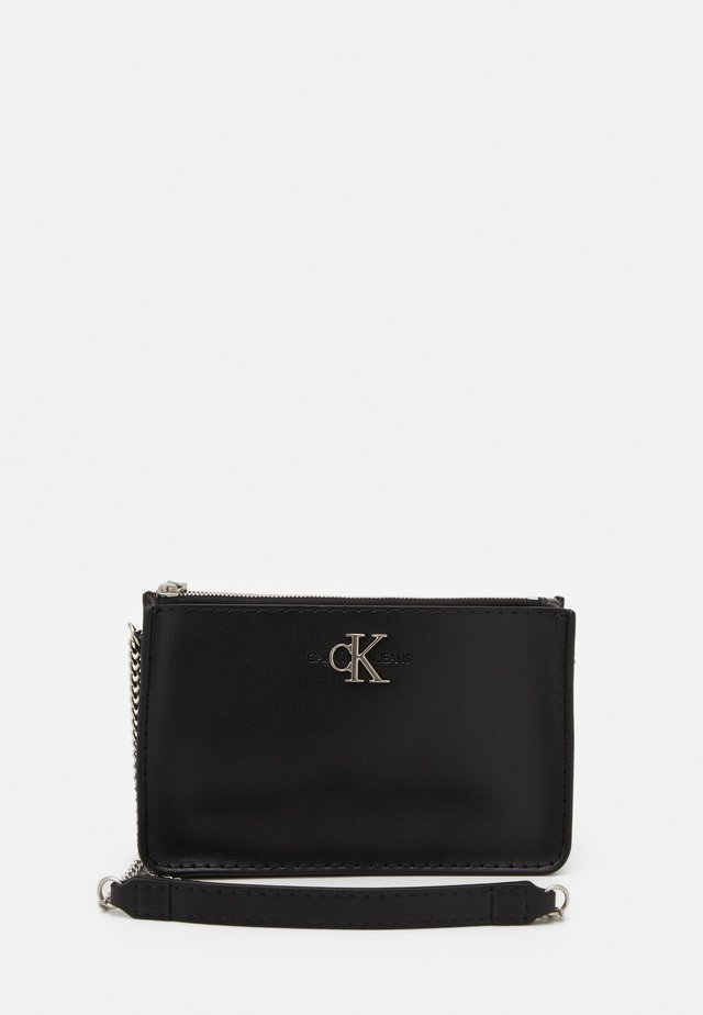 CROSSBODY CHAIN - Olkalaukku - black