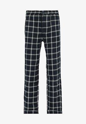 Pyjama bottoms - navy/white
