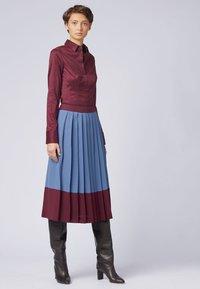 BOSS - BASHINA - Button-down blouse - dark pink - 1