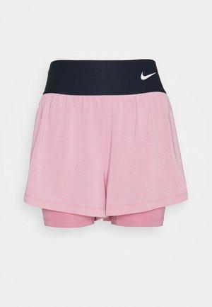 ADVANTAGE SHORT - Short de sport - elemental pink/white
