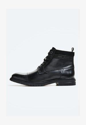 THOMAS FLEX - Lace-up ankle boots - black