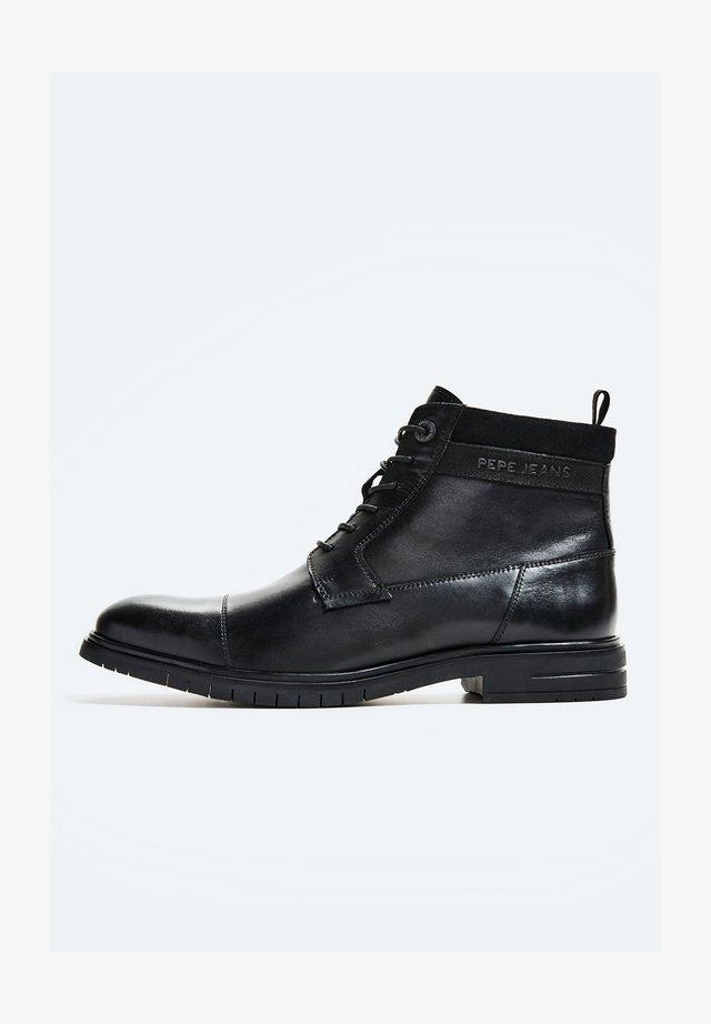 THOMAS FLEX - Šněrovací kotníkové boty - black