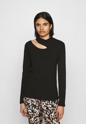 VILANA TOP - Long sleeved top - black