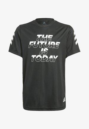 B A.R. XFG TEE - Print T-shirt - black