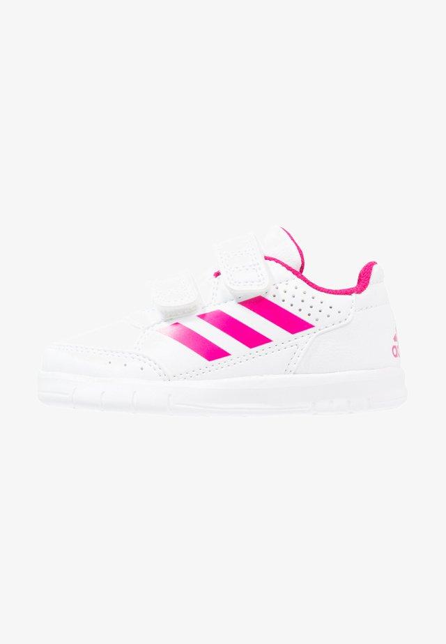 ALTASPORT CF - Zapatillas de entrenamiento - white/bold pink