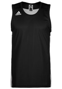 adidas Performance - 3G SPEED REVERSIBLE BASKETBALL TEAM AEROREADY PRIMEGREEN SLEEVEL - Sports shirt - black/white - 0