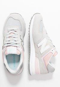 New Balance - WL574 - Trainers - grey/rose - 3