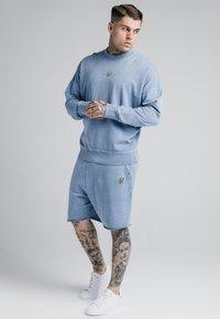 SIKSILK - CREW  - Mikina - washed blue - 1
