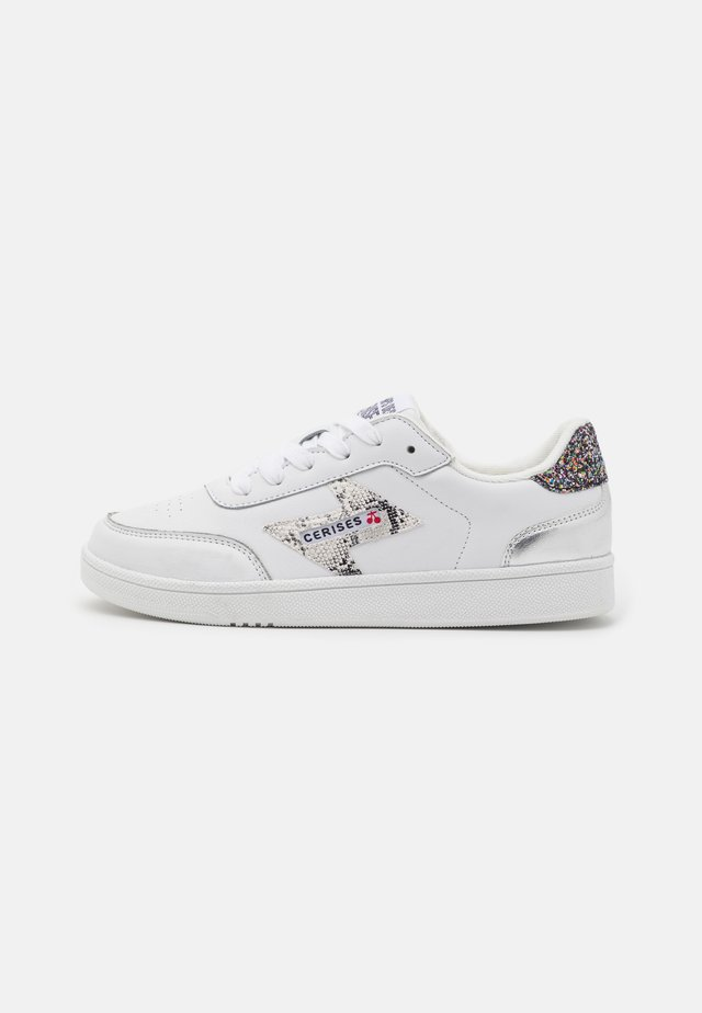 FLASH - Sneakers laag - white/silver