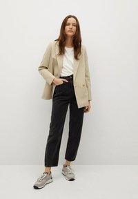 Mango - CHARLOTT - Short coat - beige - 1