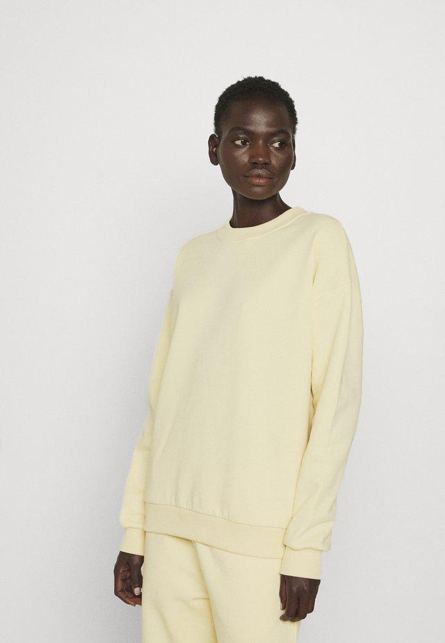 THINKTWICE - Sweatshirt - yellow
