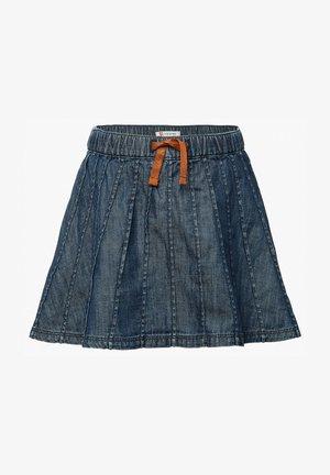 A-line skirt - medium blue denim