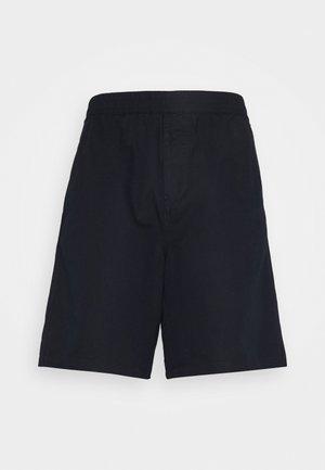 LINEN SHORTS - Shorts - blue