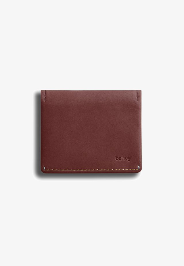 SLIM SLEEVE - Wallet - red earth