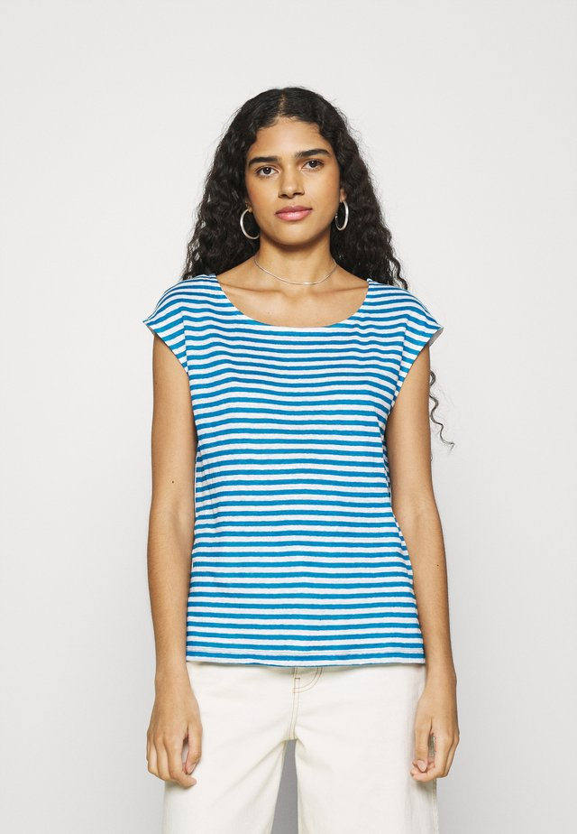 TEE - T-Shirt print - mykonos/marshmallow