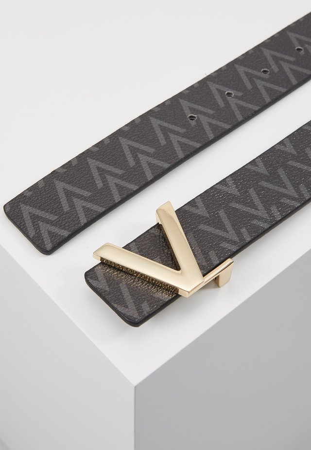 FOX LOGO REVERSIBLE BELT - Cintura - nero/moro