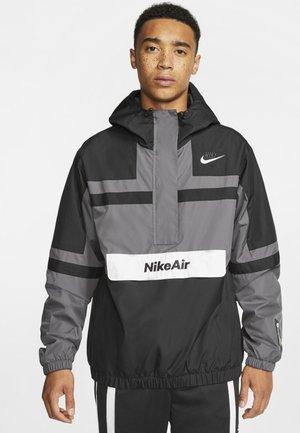 M NSW NIKE AIR JKT WVN - Windbreaker - dark grey/black/white/white