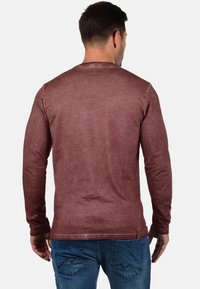 Solid - TINOX - Long sleeved top - wine red - 1