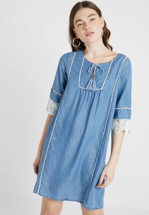 FROZA - Denimové šaty - blue denim