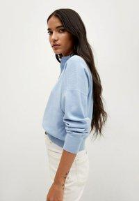 Mango - Sweatshirt - bleu porcelaine - 3