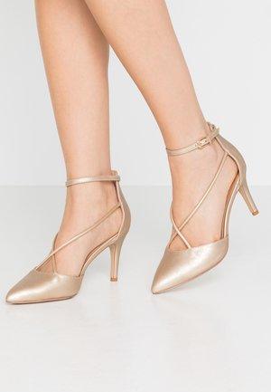 CECILIA - Classic heels - gold
