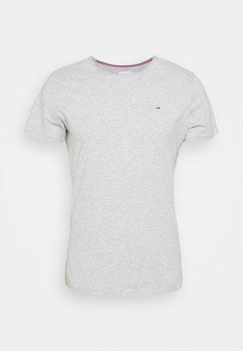 SLIM JASPE C NECK - Basic T-shirt - grey