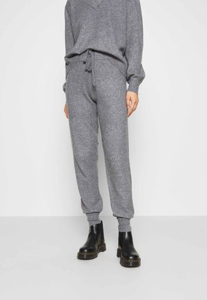 AMARGE - Tracksuit bottoms - medium melange