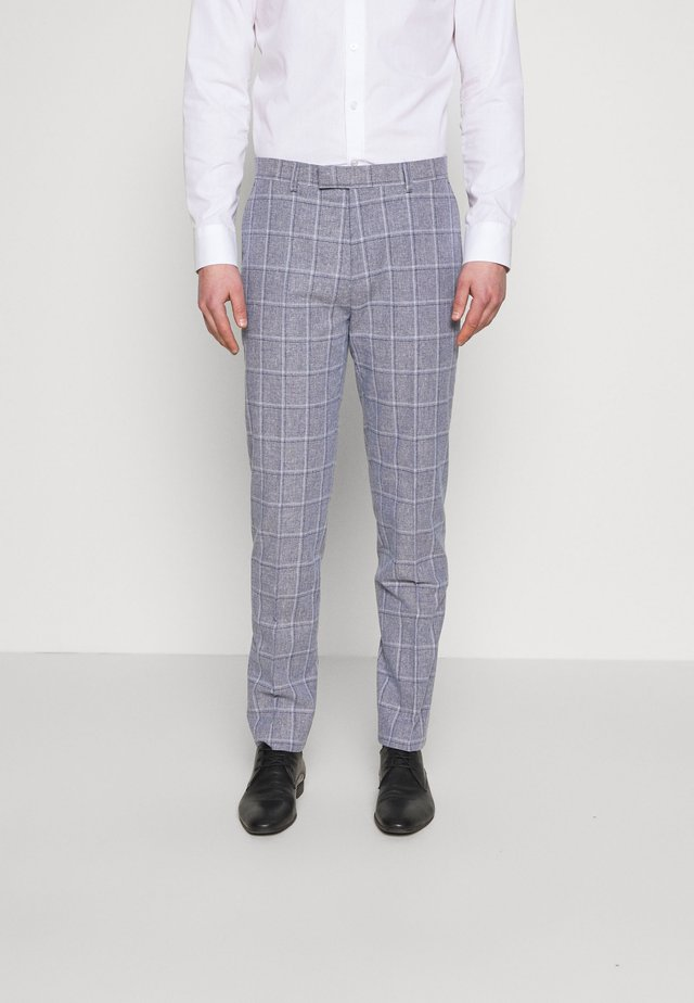 TROUSER SLIM - Pantalon de costume - mid blue