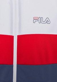 Fila - JAIRUS TAPED TRACK JACKET - Giacca sportiva - bright white/black iris/true red - 2