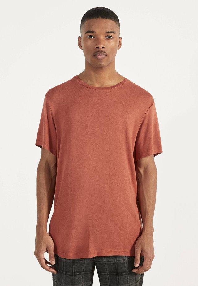 STRICKSHIRT 02350326 - Basic T-shirt - orange
