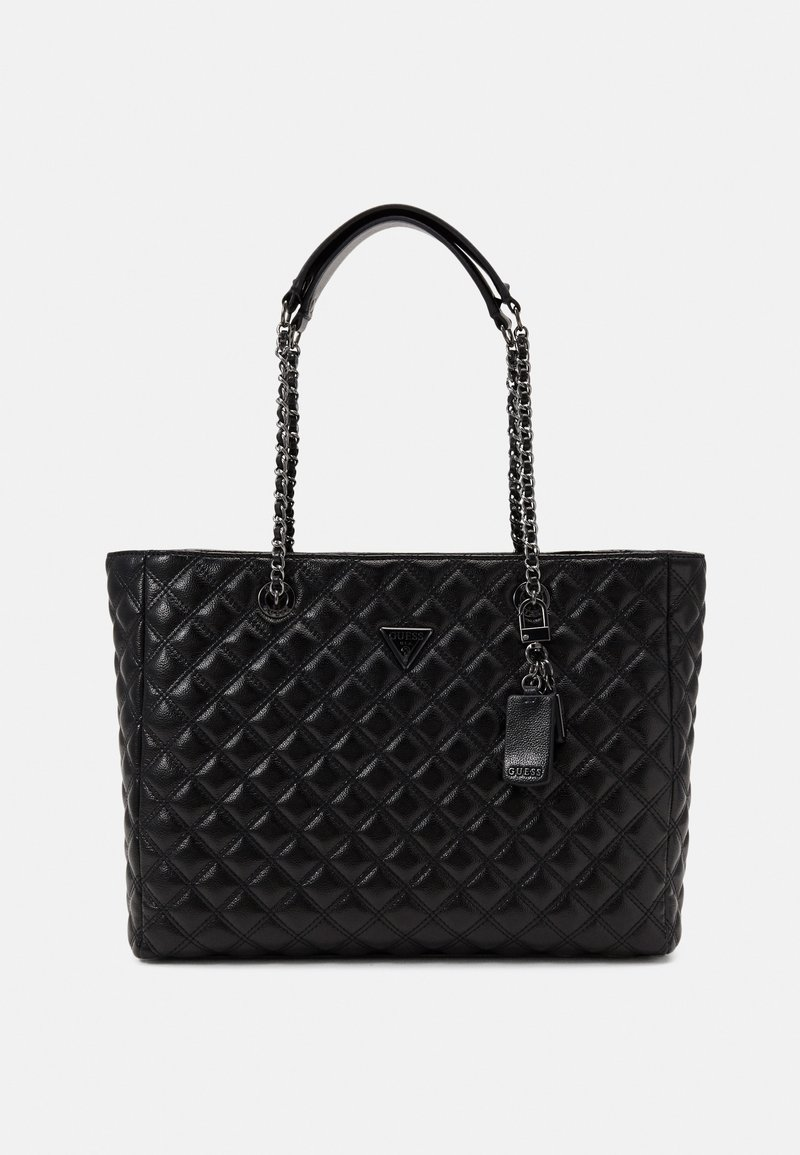 Guess - CESSILY TOTE - Shopping bag - black
