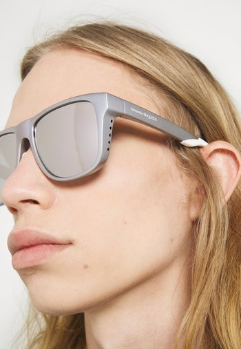 UNISEX - Sunglasses - violet/silver-coloured