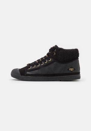 BASIC  - Sneakers hoog - black/gold