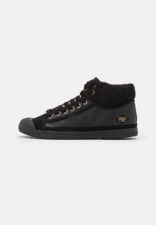 BASIC  - Sneakers alte - black/gold