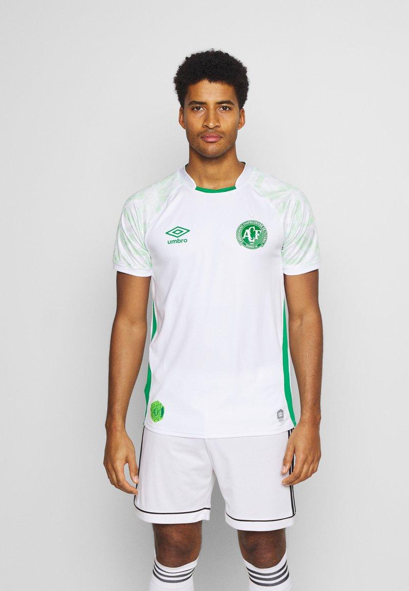 Umbro - CHAPOCOENSE AWAY - Club wear - white/green