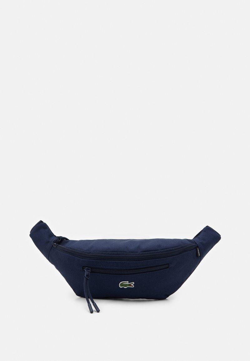 Lacoste - WAIST BAG UNISEX - Bum bag - navy