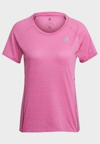 adidas Performance - RUNNER - T-shirt print - pink - 7