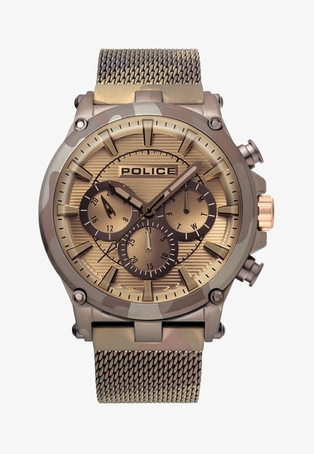 REBEL STYLE - Chronograaf - brown