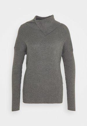YASGIA - Jumper - dark grey melange