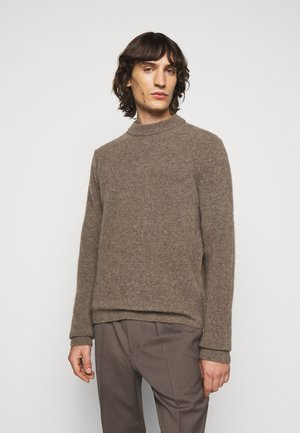 NECK - Jumper - dark taupe