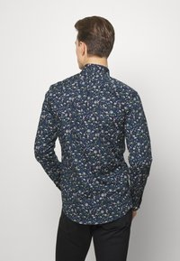 Lindbergh - FLORAL - Shirt - dark blue - 2