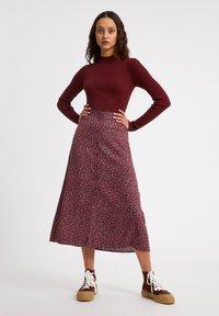 ARMEDANGELS - MADALINAA - A-line skirt - ruby red - 1
