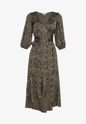 WRAP  - Robe d'été - sage leopard