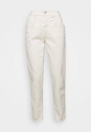 PEDAL PUSHER - Relaxed fit jeans - ecru