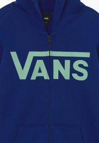 Vans - Zip-up hoodie - sodalite blue/dusty jade green - 3